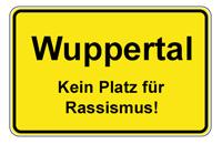 Wuppertal - Kein Platz fuer Rassismus!